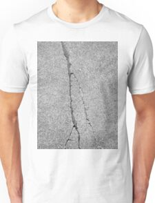 BROKEN SIDEWALK (Damaged) Unisex T-Shirt