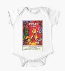 """Dragon's Lair"" - Poster Art Kids Clothes"