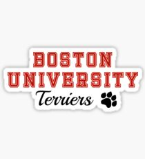 Boston University Sticker