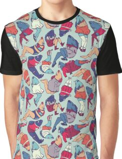 Peppy Springtime Legfish Pattern (Bright Complementaries) Graphic T-Shirt