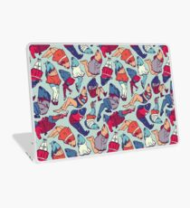 Peppy Springtime Legfish Pattern (Bright Complementaries) Laptop Skin