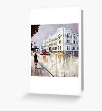 Springtime in the city  Greeting Card