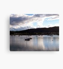 Conwy Yachts Canvas Print