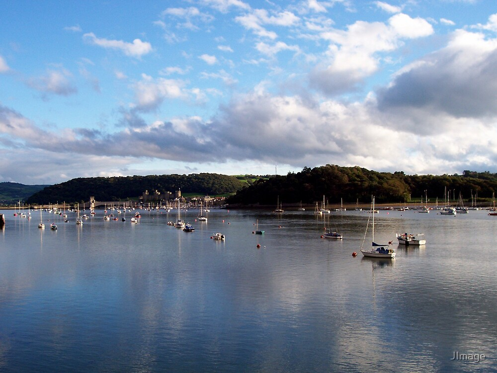 Sky over Conwy by JImage