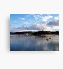 Sky over Conwy Canvas Print