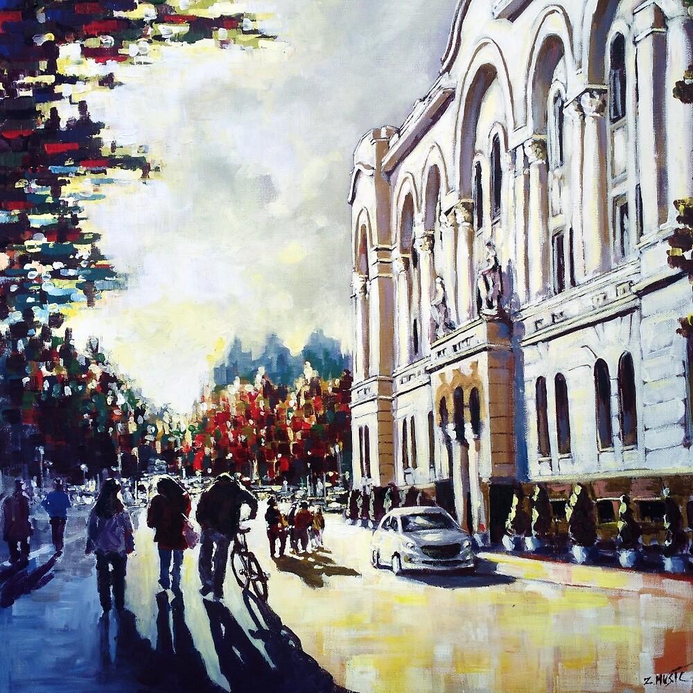 Autumn in the city by ZlatkoMusicArt