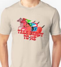 Talk Derby to Me Horse Racing Design T-Shirt