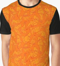 Peppy Springtime Legfish Pattern (ORANGE!!) Graphic T-Shirt
