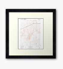 USGS TOPO Map Colorado CO Omar 233992 1951 24000 Framed Print