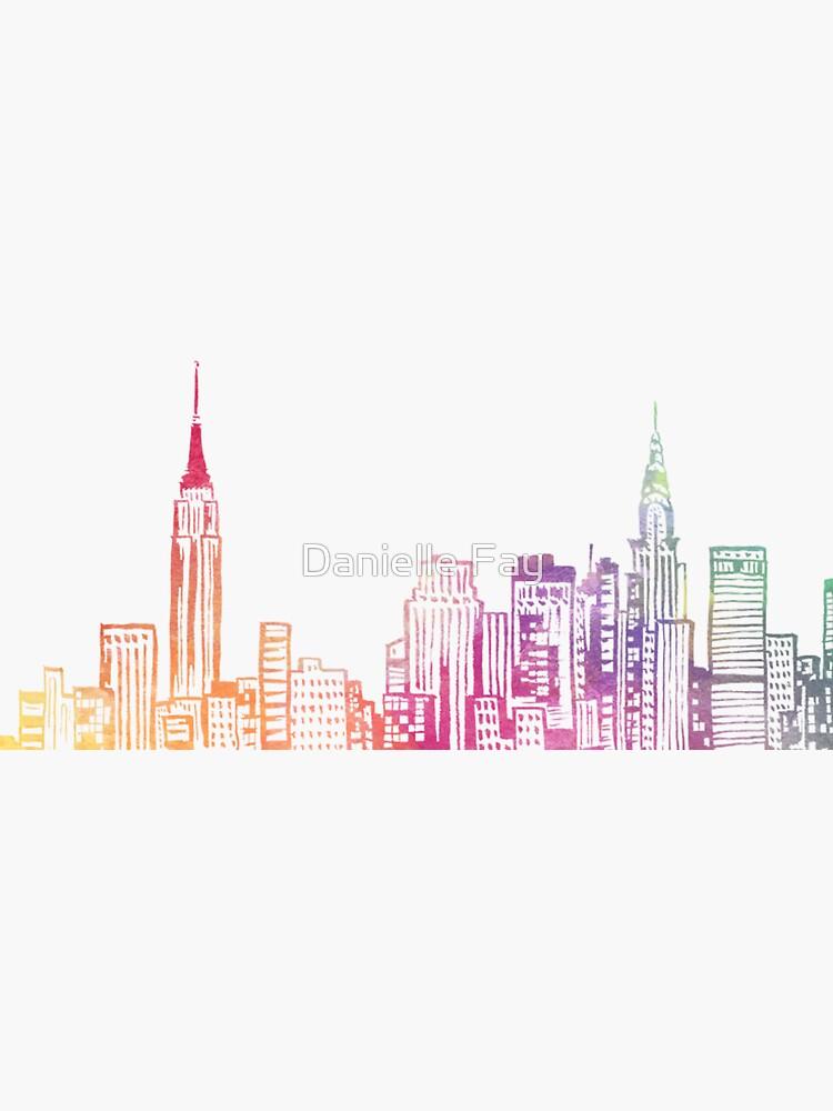 NYC Skyline de doodlesbydani