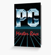 PC 80s Greeting Card