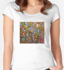 organics of imagination  Women's Fitted Scoop T-Shirt