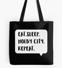 Eat Sleep Holby City wiederholen Tote Bag