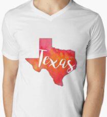 Texas V-Neck T-Shirt