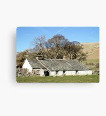 Bowness Cottage Canvas Print