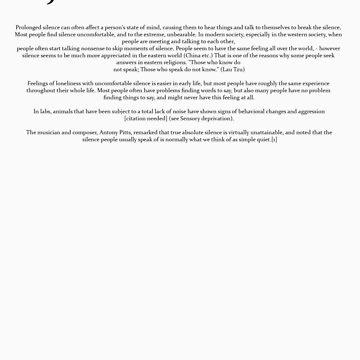 The Joshua Burton Project - Silence by joshuaburton