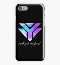 Diamonds are a girls best friend - Galaxy iPhone Case/Skin