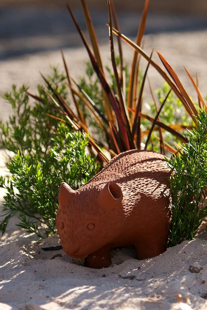 Wombat Emerges by PsiberTek