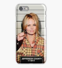 Arrested Zoey iPhone Case/Skin