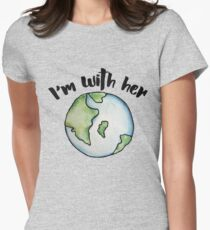 I'm with her mother earth T-Shirt