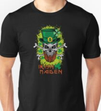 Irish Maiden Drunk St Patricks Day 2017 - Irish Pride Funny Leprechaun Unisex T-Shirt