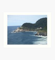 Heceta Head Lighthouse - Florence, Oregon Art Print