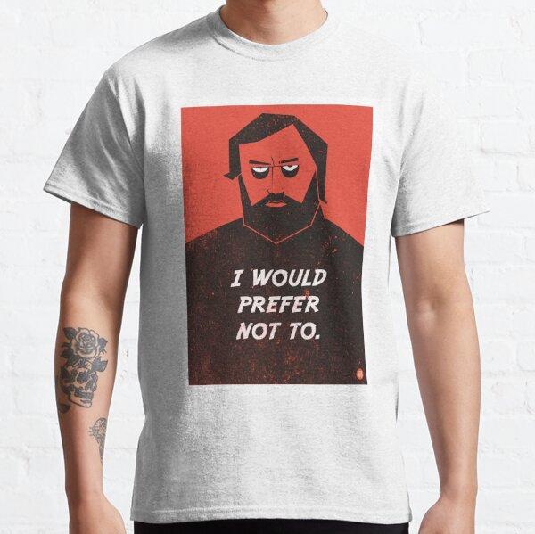 Slavoj Zizek - I would prefer not to Classic T-Shirt