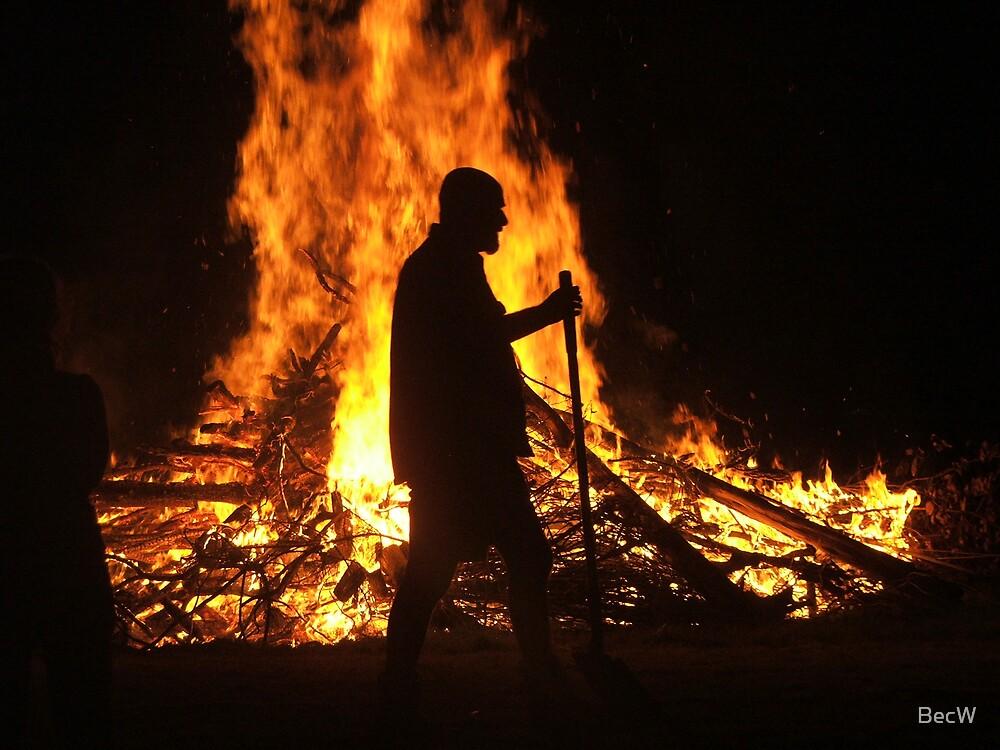 firey nite by BecW