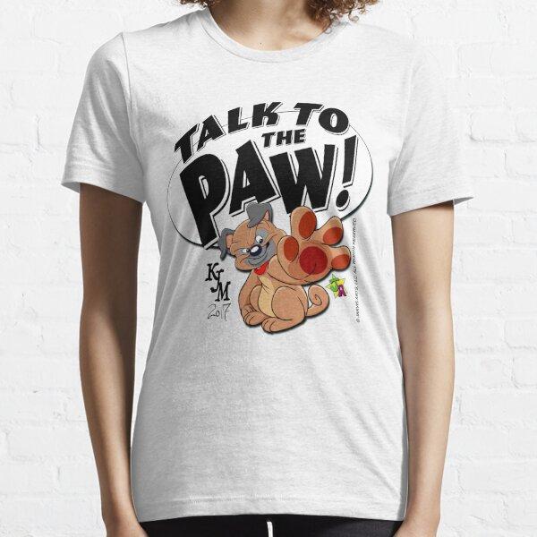 Paw Talking Pug Essential T-Shirt