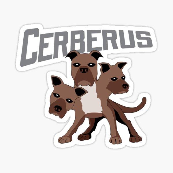 Cerberus with Title Sticker