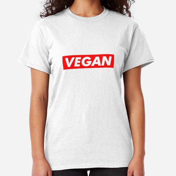 Ladies White Sex Drugs Vegan Sausage Rolls Vest Spoof Parody