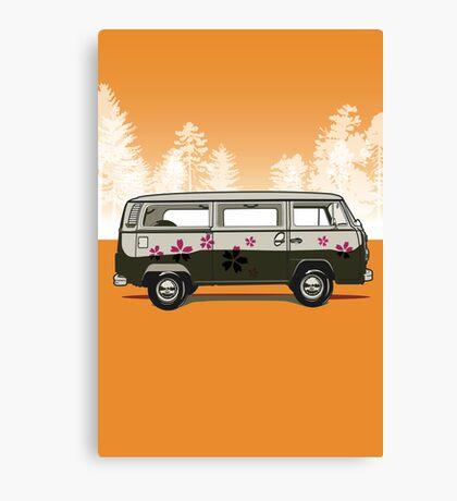 VW combi Canvas Print