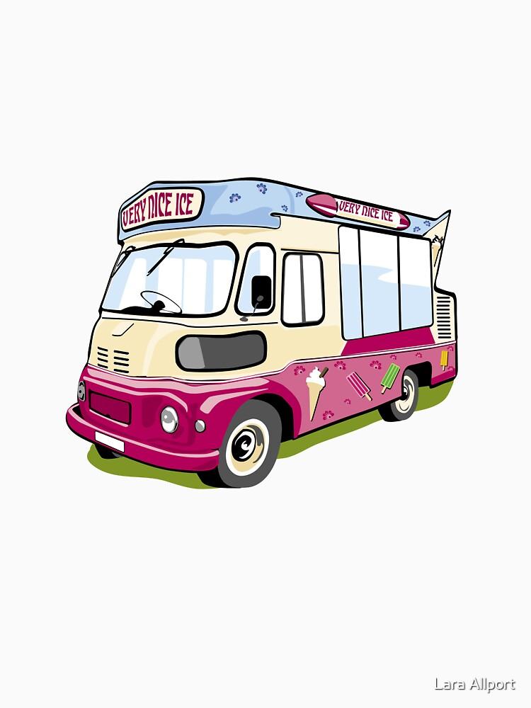 ice cream vanvector illustration of an ice cream truck by LaraAllport