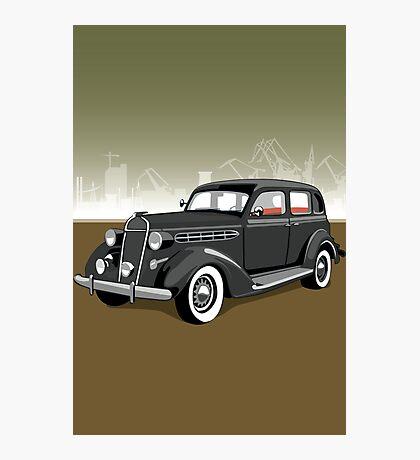 Chrysler gangster car Photographic Print