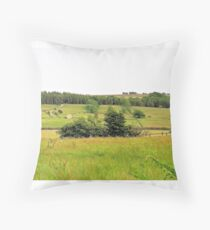 North Yorkshire Dales Throw Pillow