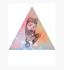 Catskin Nebula Triangle Photographic Print