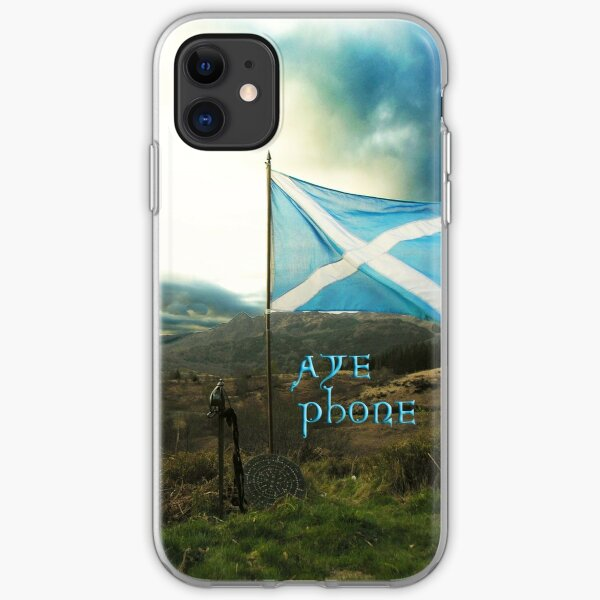 the scottish aye phone cover! iPhone Soft Case