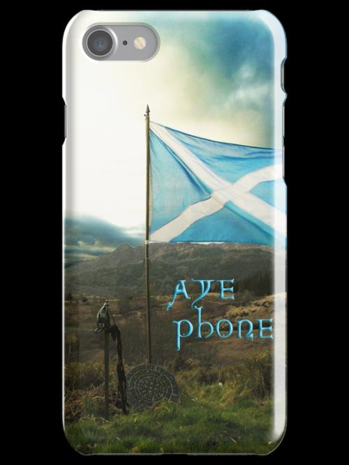 the scottish aye phone cover! by joak