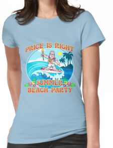TV Game Show - TPIR (The Price Is...)Summer Beach Party 4 Womens Fitted T-Shirt