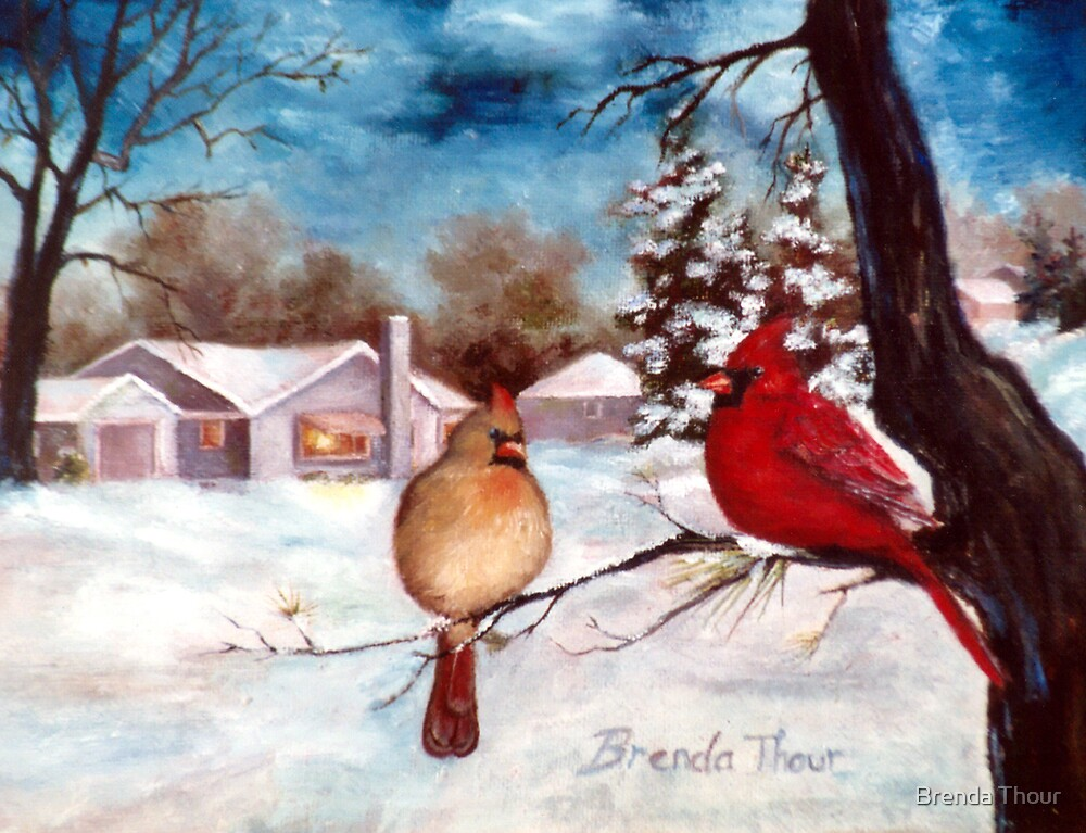 Winters Serenity by Brenda Thour
