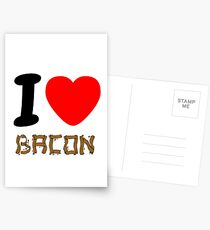 Bacon. I love it! Postcards