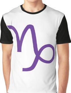 Capricorn Zodiac Graphic T-Shirt