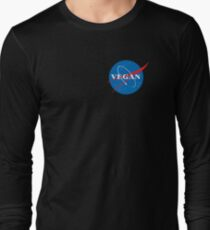 VEGAN NASA  Long Sleeve T-Shirt