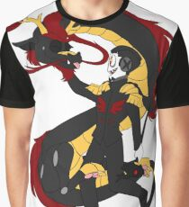 Pet Dragon Graphic T-Shirt