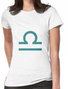 Libra Zodiac Womens Fitted T-Shirt