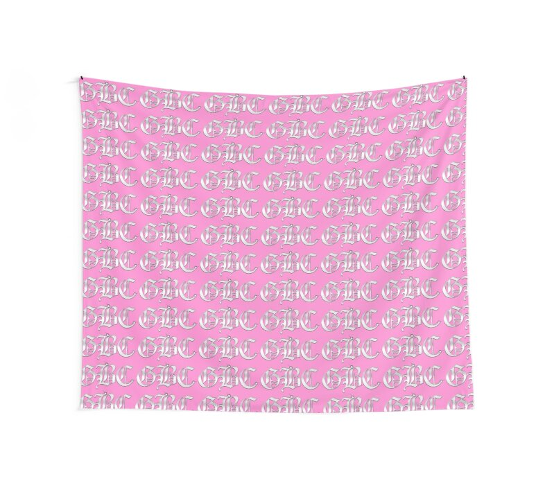"""Pink Wall Tapestry gothboiclique scarf/tapestry in pink"""" wall tapestriesnietr"""