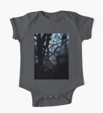 Gothic girl with rose petals 2 Kids Clothes