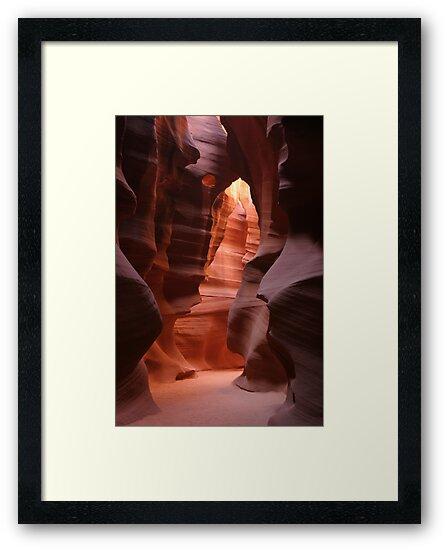 Antelope Canyon by Christophe Testi