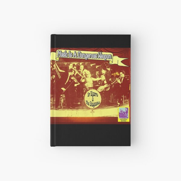 Music is a Dangerous Weapon Hardcover Journal