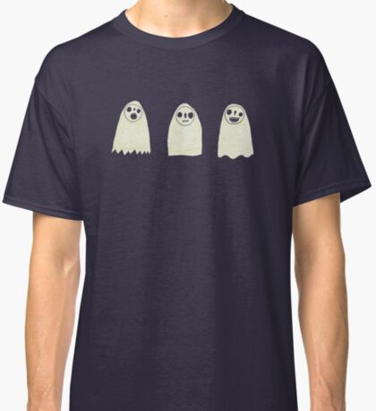 Three Spooky Ghosts Classic T-Shirt